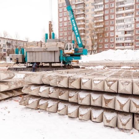 Вдавливание свай, Санкт-Петербург. BASIS