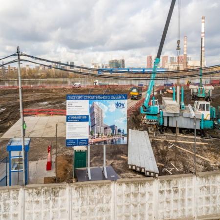 BASIS. Вдавливание свай, Москва